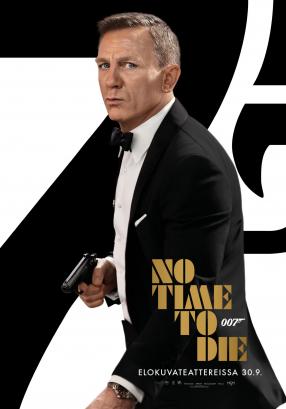 007 No Time To Die Juliste
