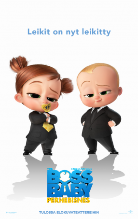 The Boss Baby: Perhebisnes Juliste