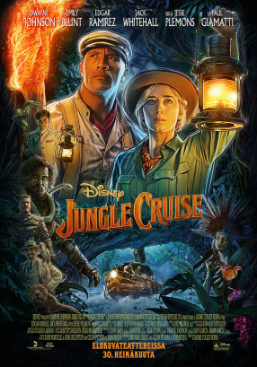 Jungle Cruise Juliste
