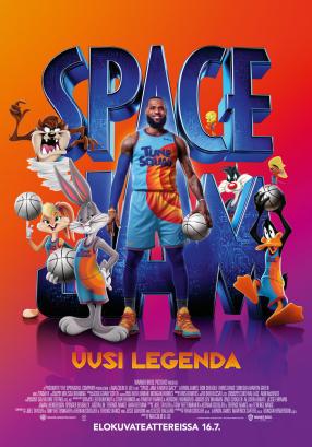 SPACE JAM: UUSI LEGENDA Juliste