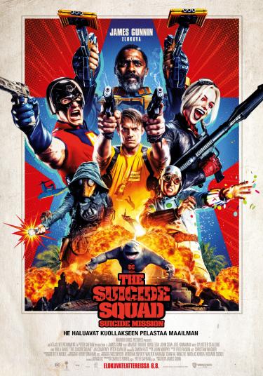The Suicide Squad Juliste