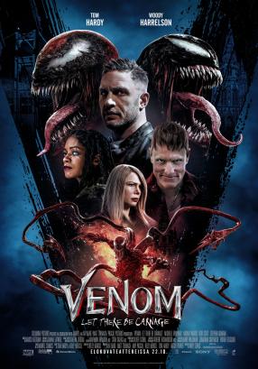 Venom: Let There Be Carnage Juliste
